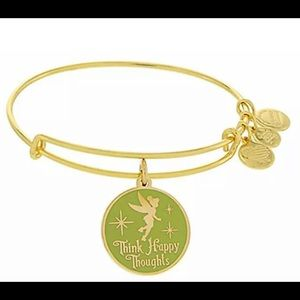 Disney Alex Ani Tinkerbell Happy Thoughts NWT